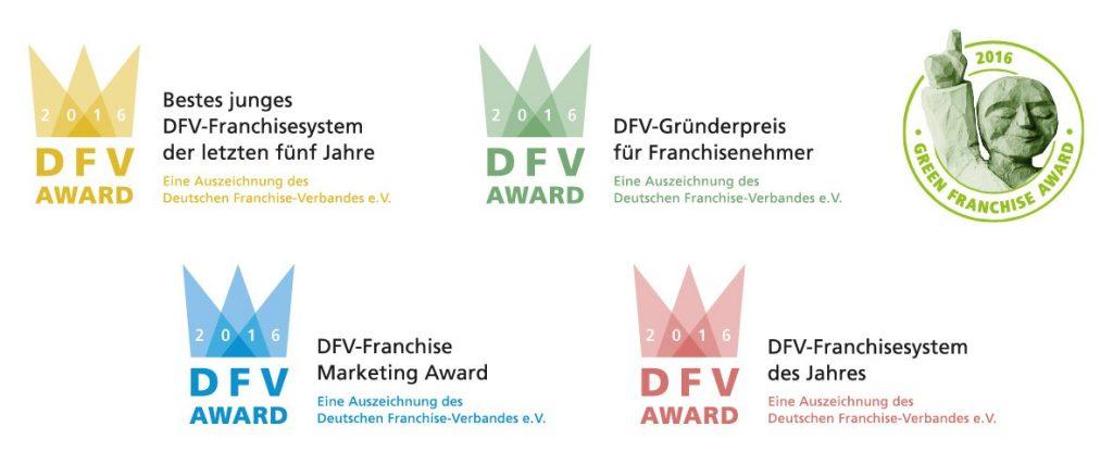 Ueberblick DFV-Award-Logos