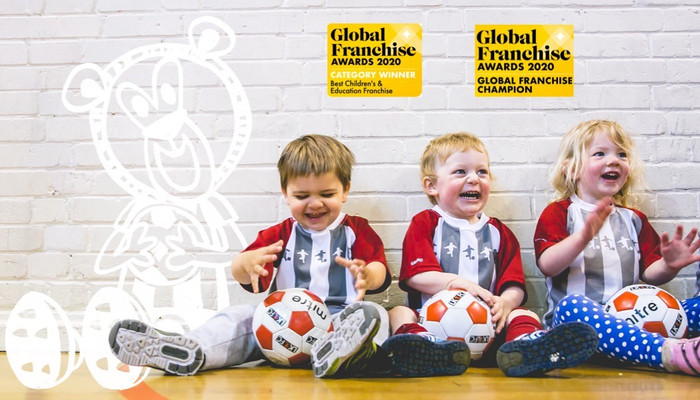 Little Kickers - educational pre-school football classes Slide-1